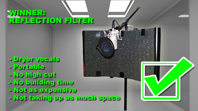 How To Diy Vocal Booth Vs Reflection Filter Part 5