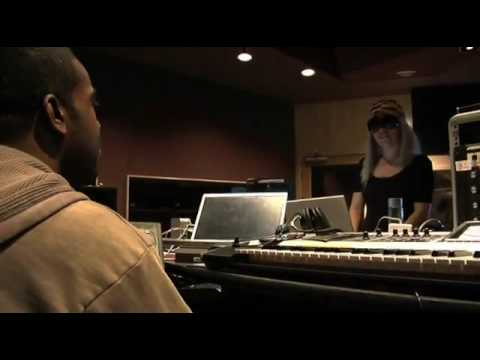 Rodney Jerkins in the studio w Lady Gaga