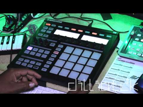 Maschine snare roll
