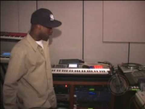 Mobb Deep in the studio