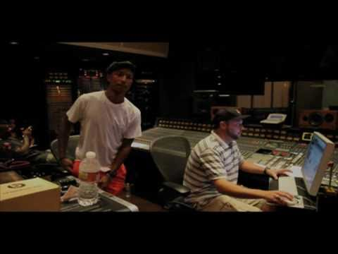 Pharrell Williams in the Studio with The Game, Polow Da Don