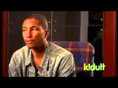 Pharrell of the Neptunes giving great tips